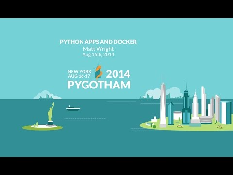 Image from Python Apps and Docker