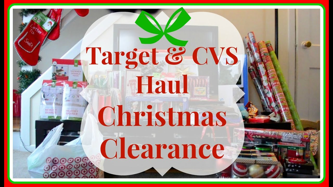 huge target cvs haul 90 off christmas clearance life as a twin mom youtube - Cvs Christmas Clearance