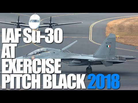 IAF Su-30s In Action At Pitch Black 2018