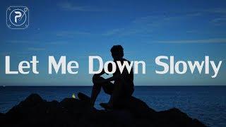 Download lagu Alec Benjamin - Let Me Down Slowly (Lyrics)