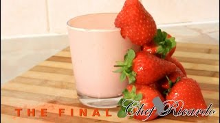 Ice Cream Smoothie - Ice Cream And Strawberry Smoothie | Recipes By Chef Ricardo