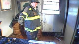 Bedroom Fire Investigation