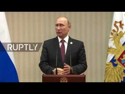 LIVE: Putin holds press conference on sidelines of APEC - Or
