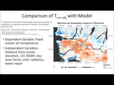Microscale heat variability mapping in greater Vancouver