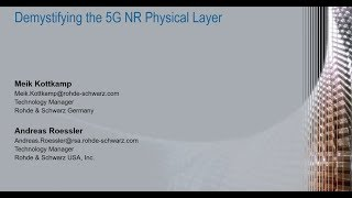 Demystifying the 5G NR physical layer