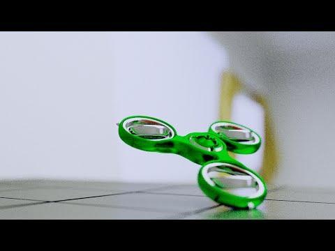 Gyroscopic Self-Spinning Fidget Spinner