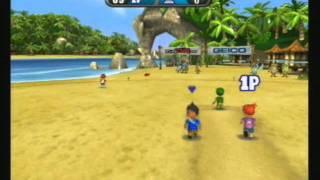 Big Beach Sports: Cricket Gameplay