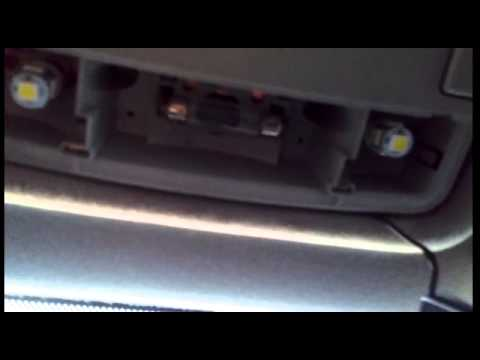 Seat  Vw Change interior light bulbs to white LED  YouTube