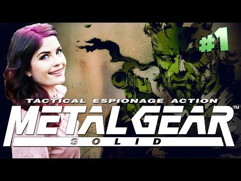 Metal Gear Solid (PS1) For the First Time Ever