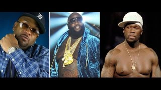 Rick Ross Disses 50 Cent And Trick Trick on New song. Young Buck and Trick Trick Respond!