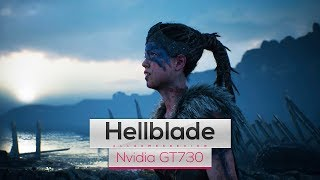 Hellblade Senua's Sacrifice on Intel Core 2 Quad Q8400 & Nvidia GT730