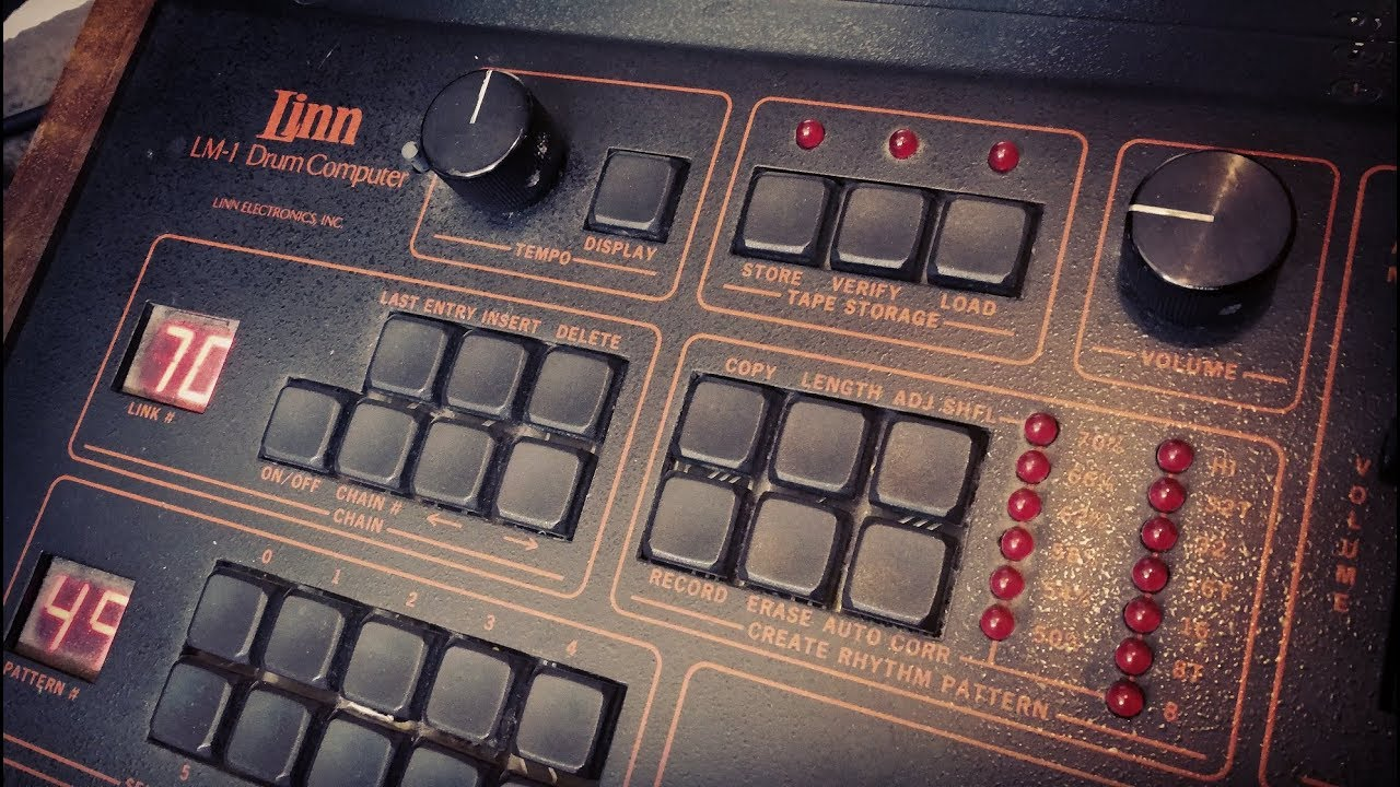 The Linn LM-1: The Drum Machine that changed everything