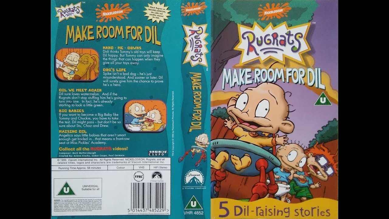 Closing To Rugrats Make Room For Dil