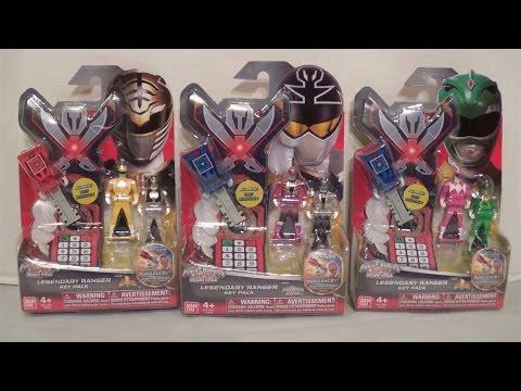 Legendary Ranger Key Packs Wave 5 Review [Power Rangers Super Megaforce]