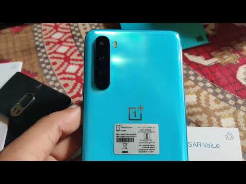 OnePlus Nord 5G 12 GB RAM 256GB Storage Blue Marble Color Unboxing