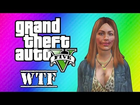 Thumbnail: GTA 5 Online: Super Glitchy Lobby - Invincible Lady & Teleportation (GTA 5 Funny Moments)