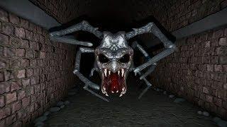 迷路でクモのバケモノに追われるホラーゲームが超コワい - ゆっくり実況