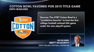 Sources Cotton Bowl Favored To Host First Finale