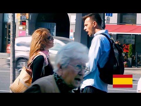 знакомство с испанкой