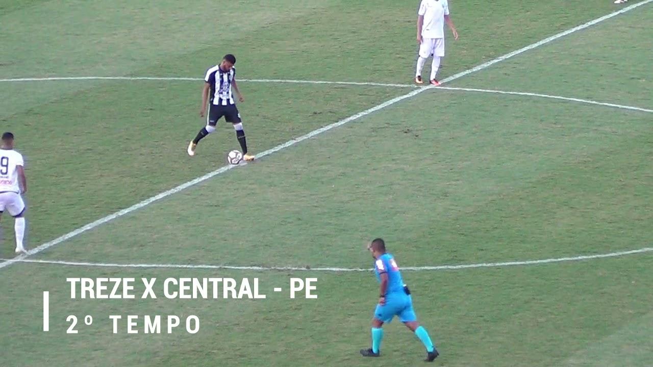 Treze continua sem vencer na seria D, O galo só empatou com o Central de Caruarú no Amigão
