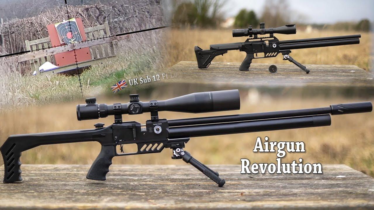 REVIEW: FX Dreamline  22 - Revolutionary Air Gun - EASY 100 Yard Targets -  Dreamlite + Tac