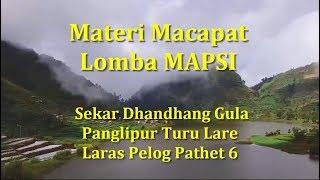 #2 Macapat Mapsi : Dhandhang Gula Panglipur Turu Lare