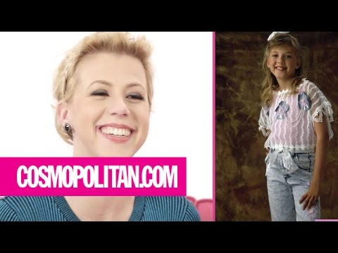 Jodie Sweetin Critiques Her Best Throwback Looks  Cosmopolitan