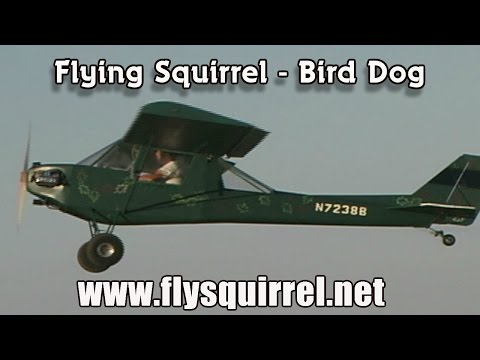 Flying Squirrel M19 experimental aircraft by the late Marvin Barnard.