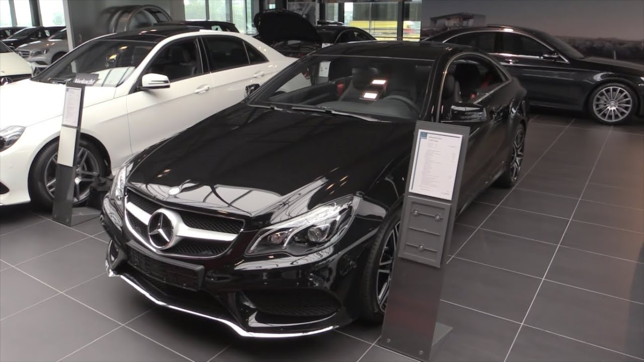 Mercedes Benz E Cl Coupe Amg 2016 2017 In Depth Review Interior Exterior