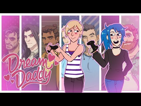 Dream Daddy: A Dad Dating Simulator- FULL Craig Route [Live stream]