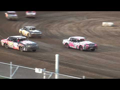 IMCA Hobby Stock Heat 1 Independence Motor Speedway 8/24/19