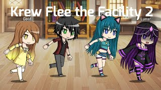 Krew Flee the Facility Funny Moments Part 2 | Gacha Studio | Light Cake