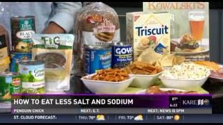 How to Eat Less Salt (7/6/16 on KARE 11)