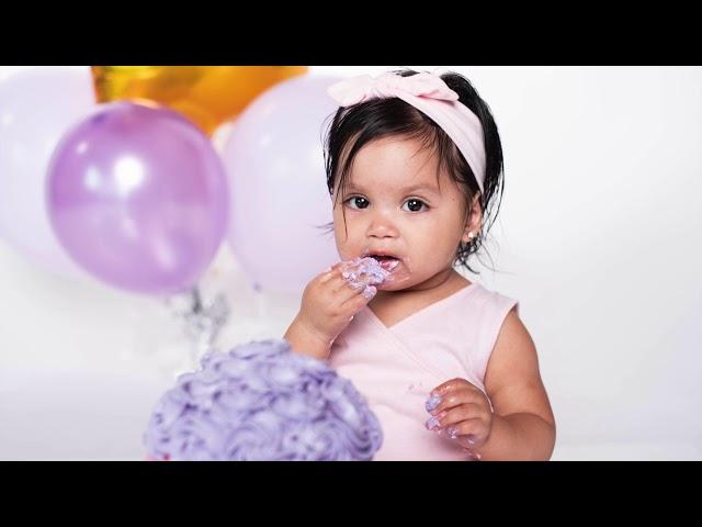 Ileana Adeline 1st Birthday