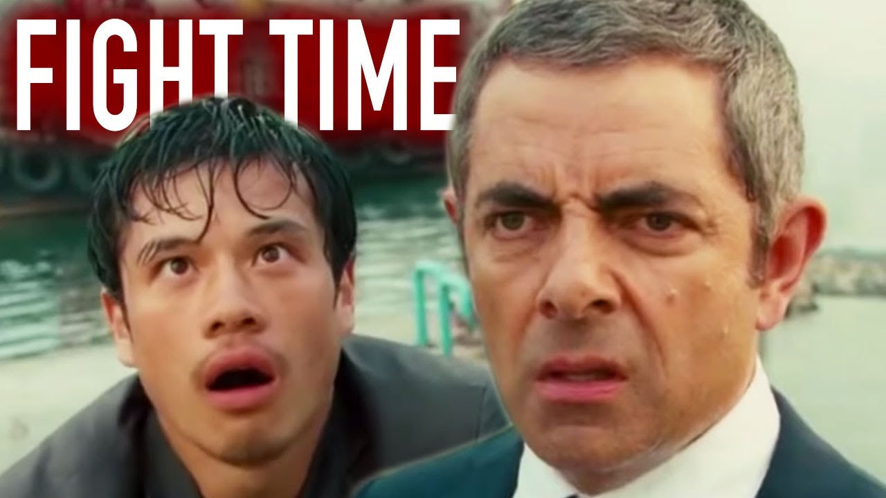 FIGHT Time    Johnny English   Funny Clips   Mr Bean Comedy