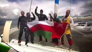 Musandam-Oman Sail after finishing the 2014 Sevenstar Round Britain and Ireland Race