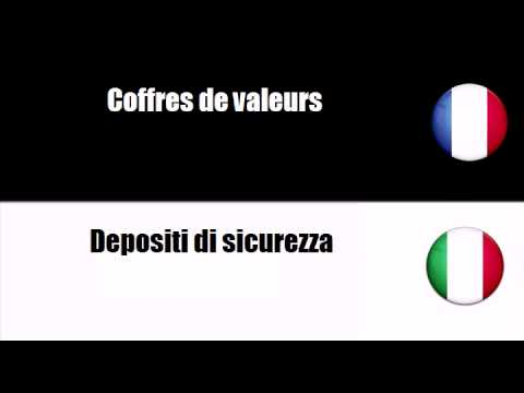 # Italiano=Francese # Argomento = Casseforti o cassette di sicurezza e porte blindate o rinforzate