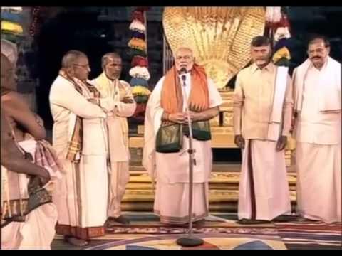 PM Shri Narendra Modi visits Tirumala Temple, Tirupati