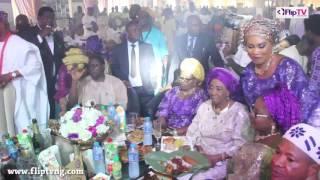 SEFIU OLAO ADEKUNLE PULLS CROWD AT EBENEZER OBEY'S 75TH BIRTHDAY