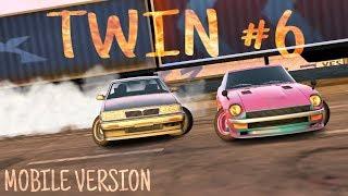 TOP Best Twin Drift #6 Tandem Nissan S30 VS Laurel | Парный дрифт | CarX Drift Racing MOBILE