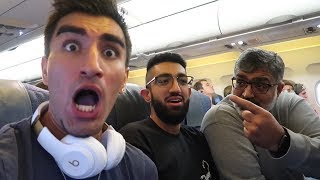 WE GOT KICKED OFF OUR FLIGHT!!! (not clickbait)