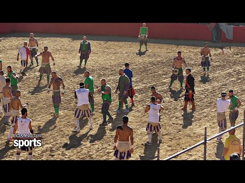 Florentine Football: Sport of the Modern Gladiator | 60 MINUTES SPORTS Preview