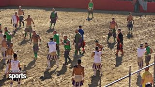 60 MINUTES SPORTS covers the modern day gladiators of Florence, Italy whose sport is so intense and chaotic that even its most ardent fans have trouble ...