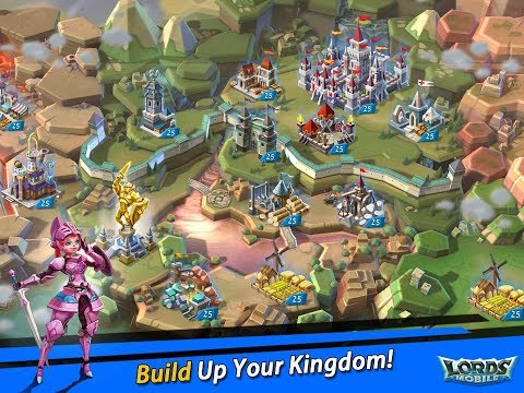 Best Castle Base Of Lords Mobile For F2p : How Many Infirmary Should Be There
