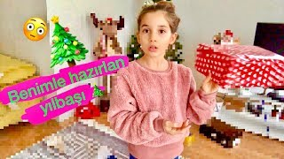 Yılbaşı İçin Alışveriş Ve Hazırlık Vlog Ecrin Su Çoban