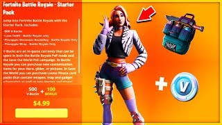 VOICI the SEASON 9 STARTER PACK on Fortnite!