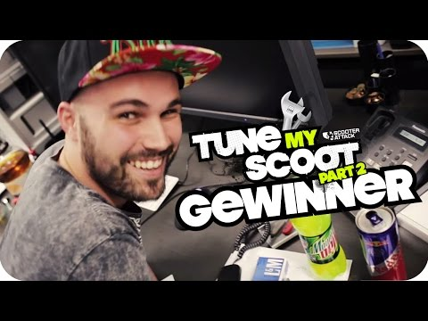 Scooter-Attack presents   Bekanntgabe des Tune My Scoot 2 Gewinners