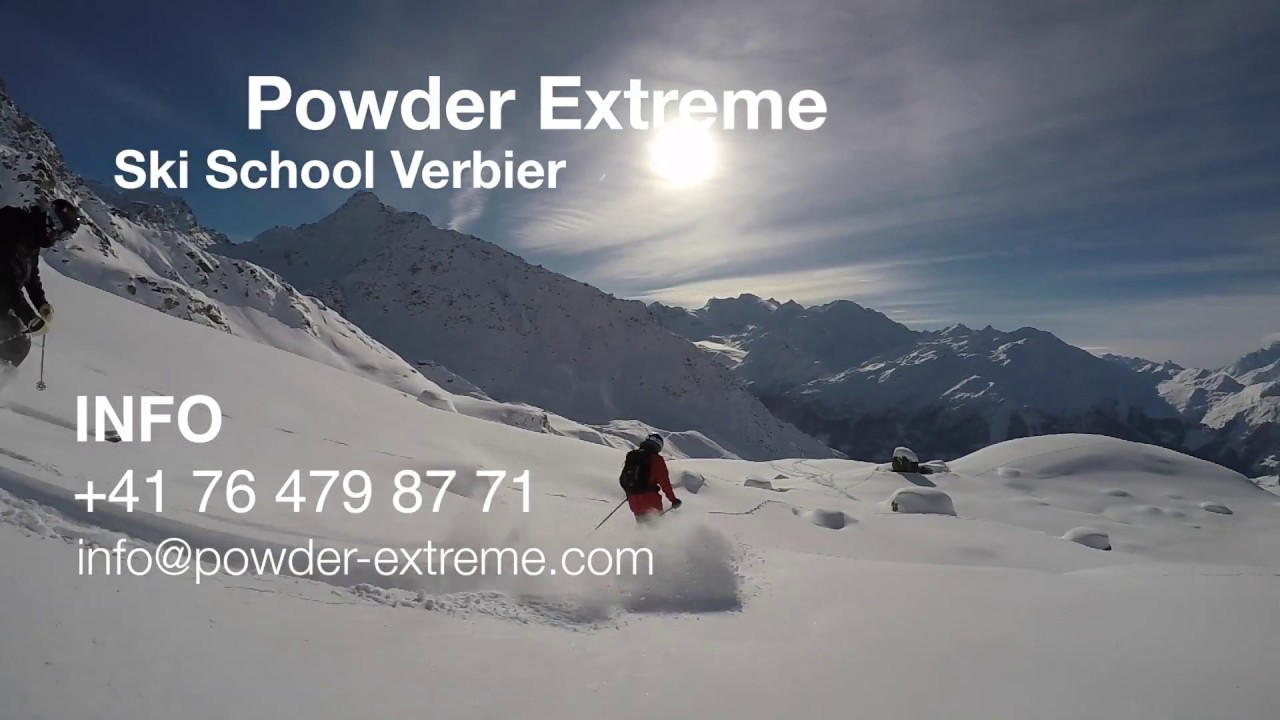 Powder Extreme Verbier Snow report Tuesday 19 of dec 2017