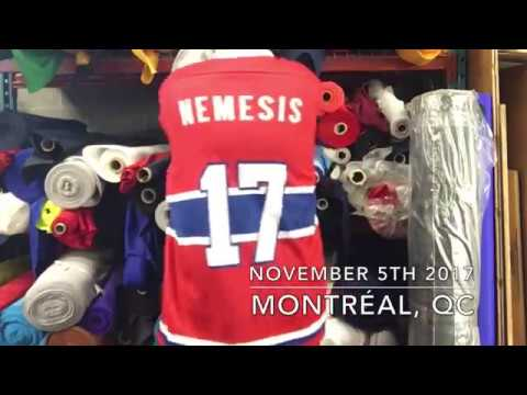 Arch Enemy - Making Of Canadian Hockey Jerseys!
