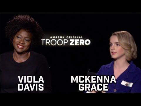 DP/30 Junket: Troop Zero, Viola Davis, Mckenna Grace